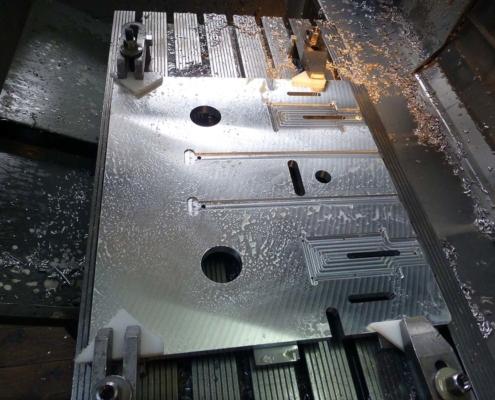 Aluminium-Bearbeitung