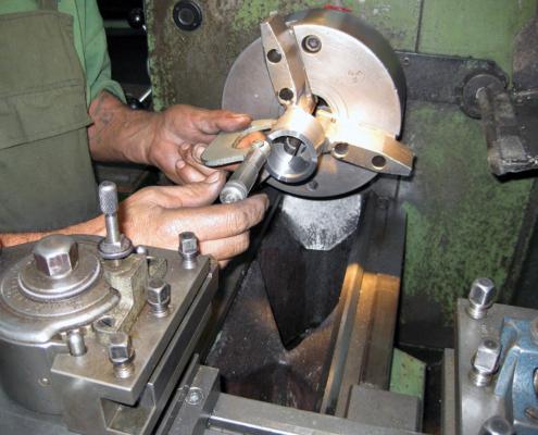 Drehbearbeitung in der Werkstatt
